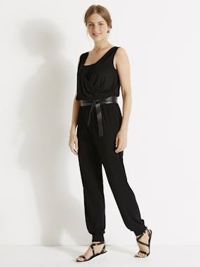 Maternity-Playsuits & Dungarees-Adaptable Maternity & Nursing Jumpsuit