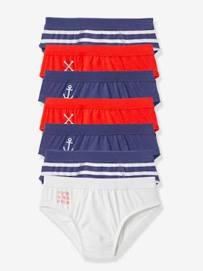 Vertbaudet Collection-Pack of 7 Boys Briefs