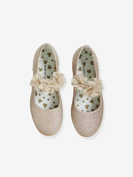 Ballerines paillettes fille OR PAILLETTES - vertbaudet enfant