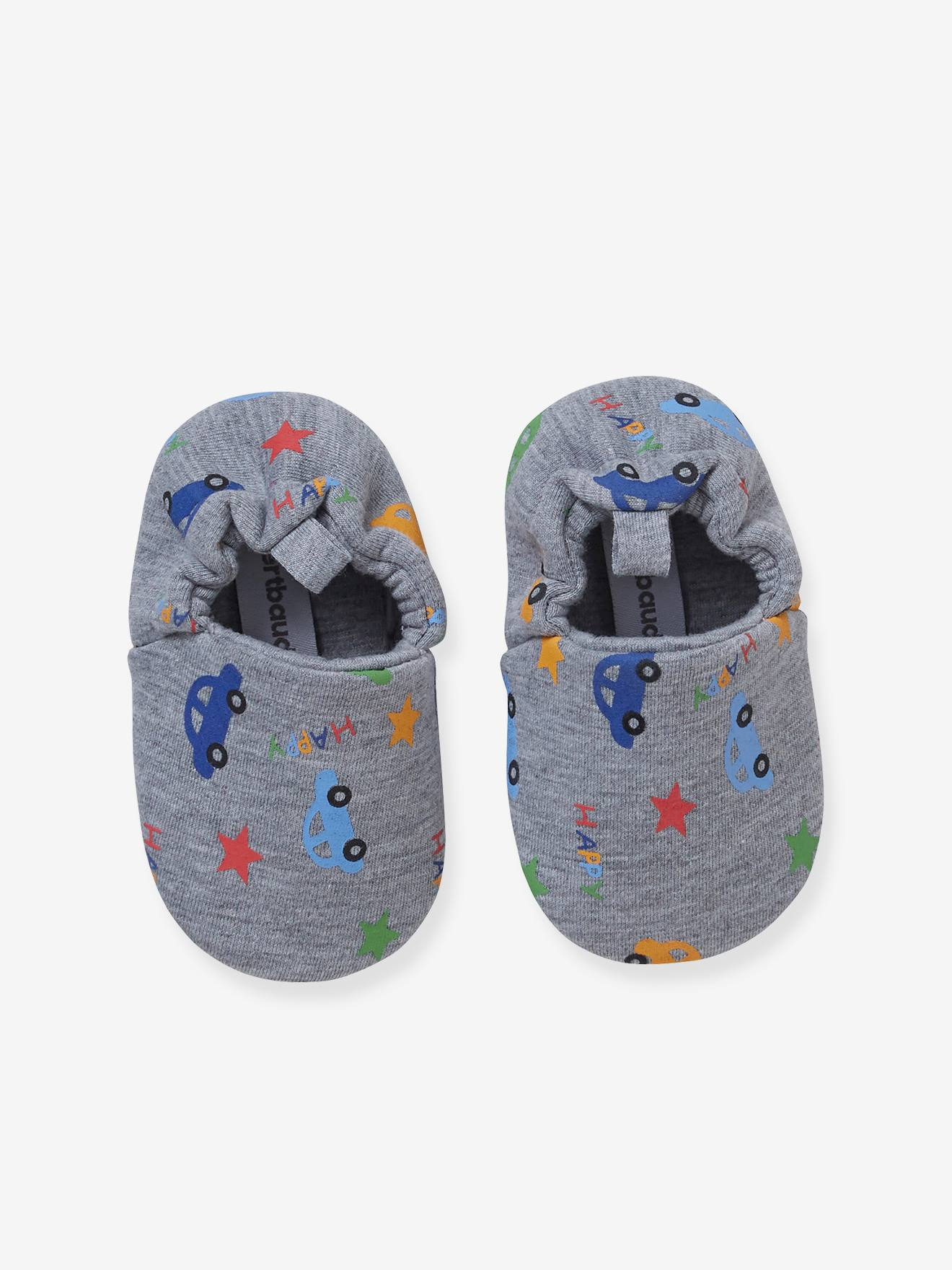 Elasticated Booties, for Baby Boys