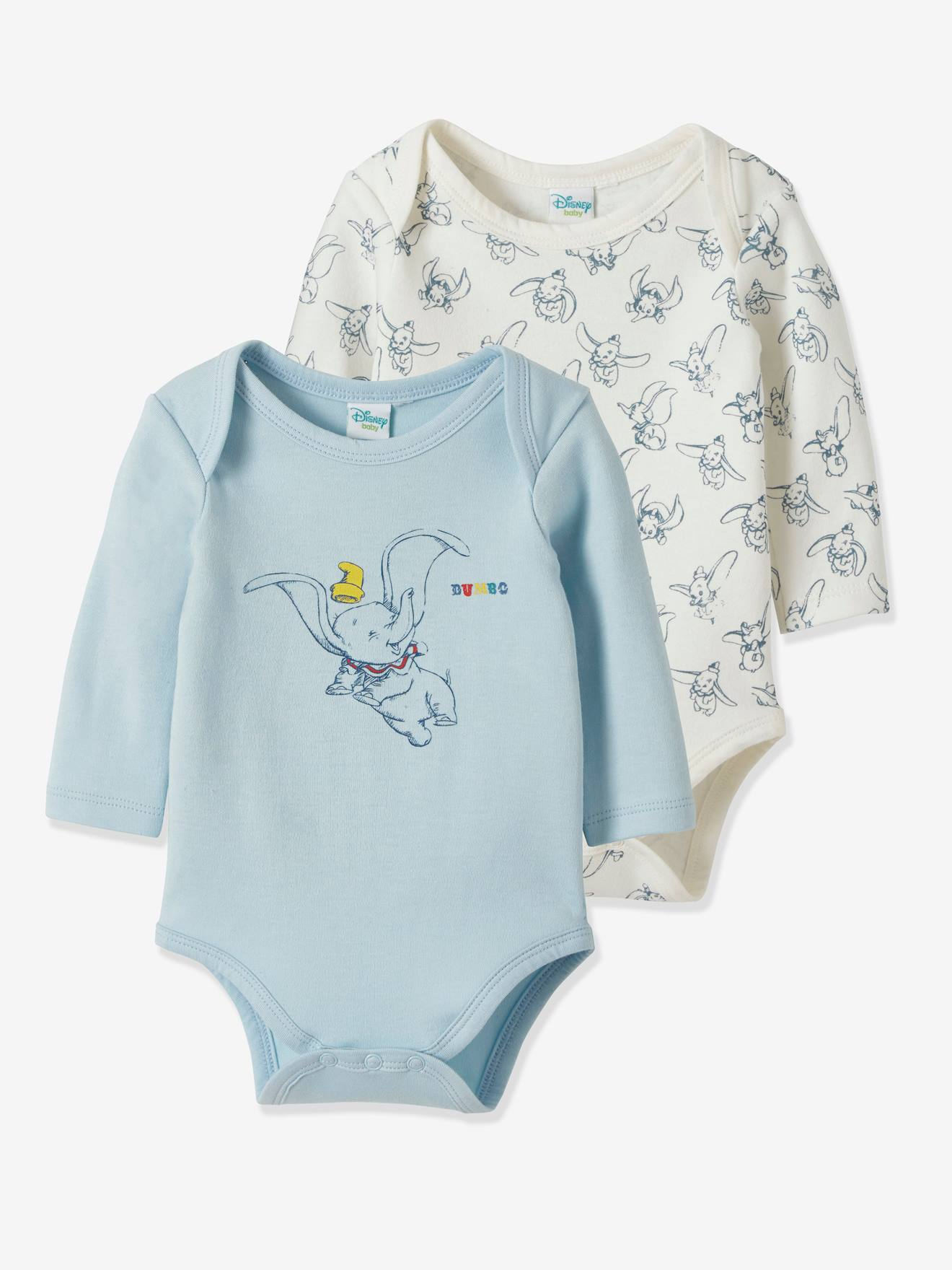 MICKEY  CLOTHING DUNGAREES BABY DISNEY CHARACTER DUMBO COMPLETE  OUTFIT