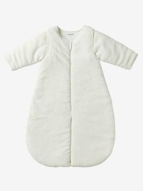 Bedding & Decor-Baby Bedding-Microfibre Sleep Bag With Detachable Long Sleeve, For Strolling