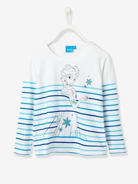 haut-Girls' Long-Sleeved T-Shirt with Glitter, Frozen® Theme