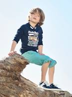 Indestructible Cropped Trousers for Boys, Turn into Bermuda Shorts  - vertbaudet enfant