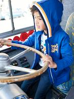Hooded Jacket with Graphic Motifs, for Boys  - vertbaudet enfant
