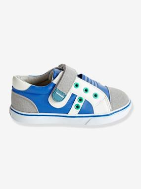 Shoes-Boys' Leather Trainers, Designed for Autonomy