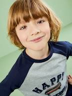 Top with Long Contrasting Sleeves, for Boys  - vertbaudet enfant