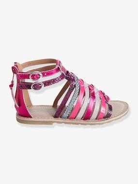Summer Collection-Shoes-Girls Leather Sandals