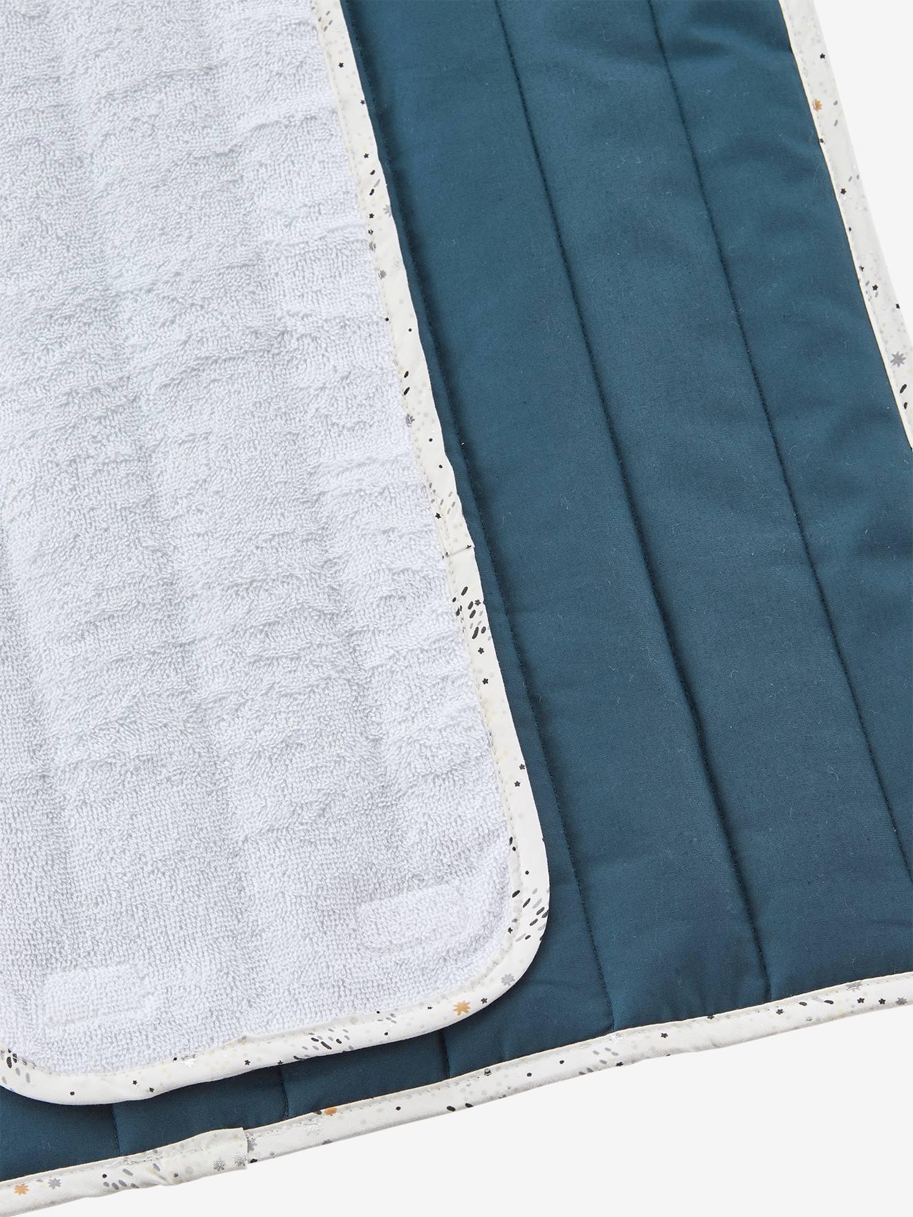 tapis a langer de voyage blanc imprime