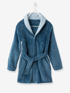 Vertbaudet Collection-Boys-Plush Soft Dressing Gown