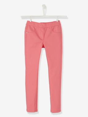 Vertbaudet - Trousers girls boys and babys-Girls' Plain Treggings