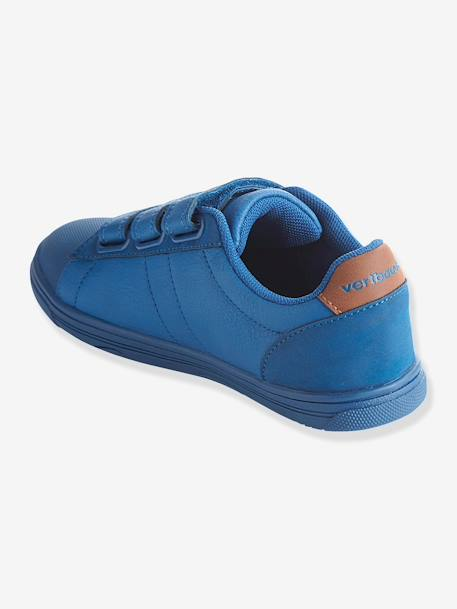 Boys Trainers Bright blue+Yellow - vertbaudet enfant