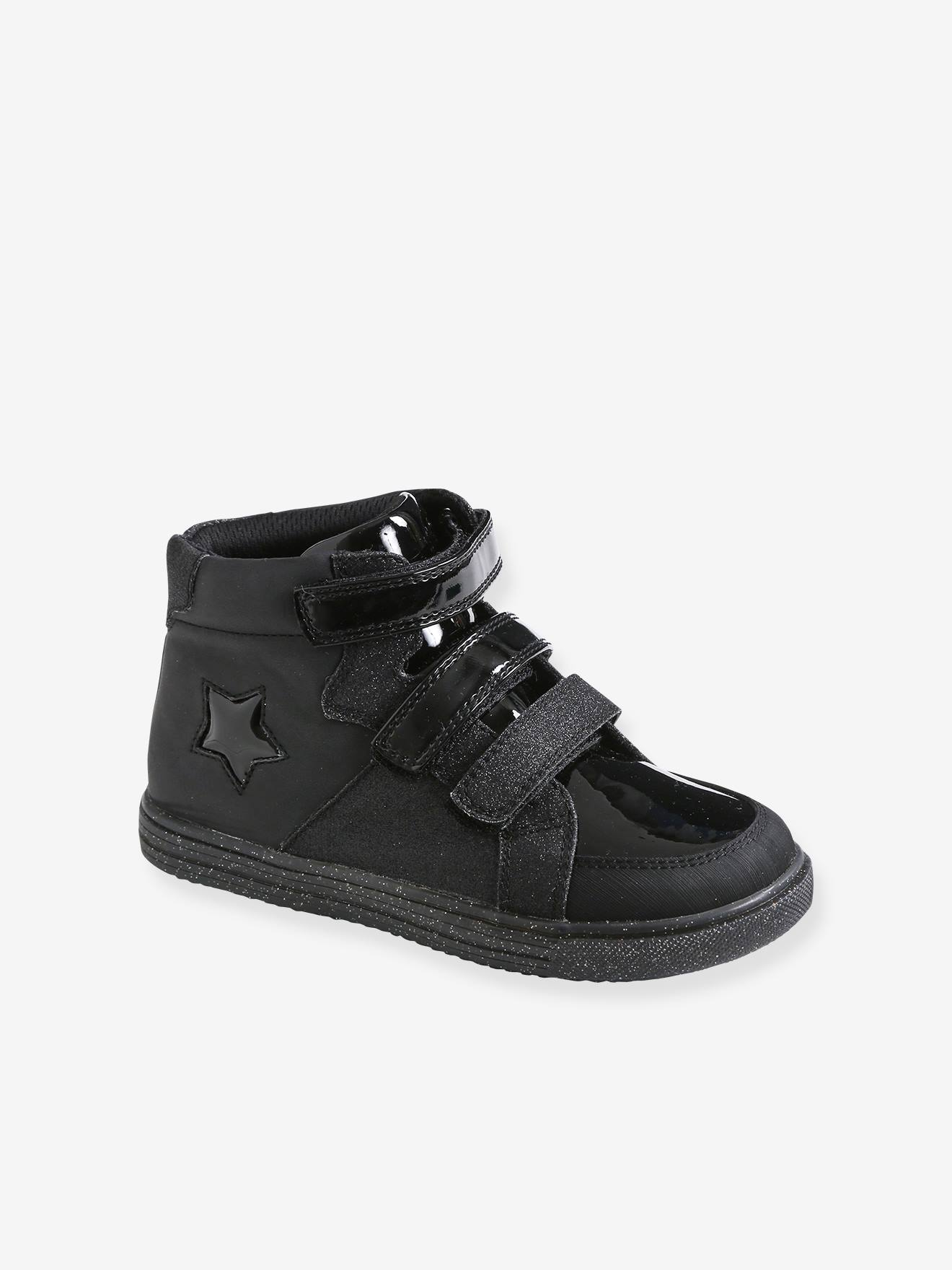 High-Top Trainers with Touch Fasteners