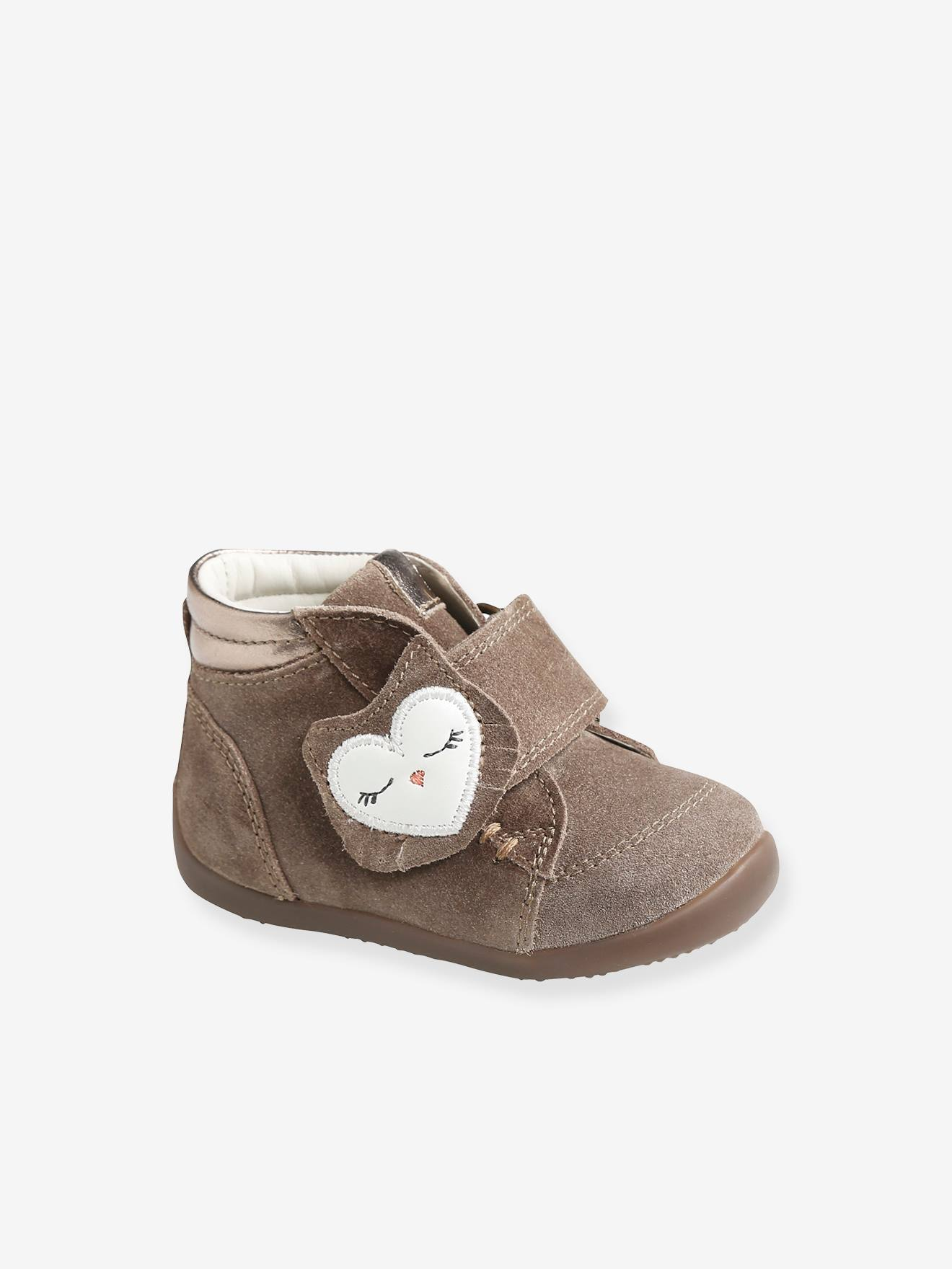 Leather Ankle Boots for Baby Girls