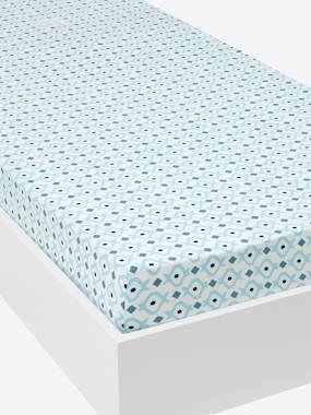 Bedding & Decor-Child's Bedding-Fitted Sheets-Fitted Sheet, Brooklyn Skate Theme