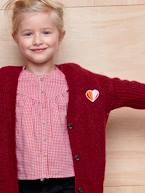 Blouse with Ruffles for Girls  - vertbaudet enfant