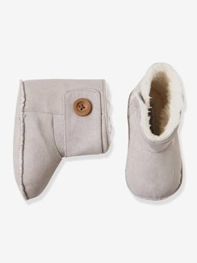 Vertbaudet Sale-Shoes-Newborn Baby Soft Bootees