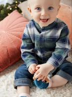 Chequered Shirt for Baby Boys  - vertbaudet enfant