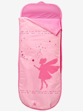 Bedding-Child's Bedding-Sleeping Bags & Ready Beds-Readybed® Sleeping Bag with Integrated Mattress, Fairy Theme