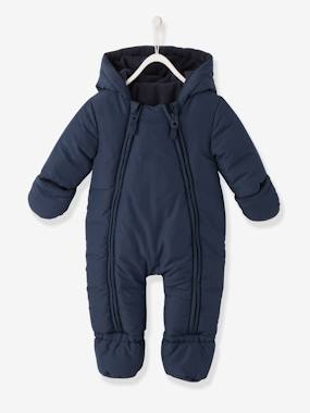 Coat & Jacket-Convertible Baby Snowsuit