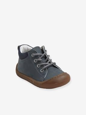 Blanc Chaussure Bebe Garcon 0-6 mois Premiers Pas Moccasins B/éb/é Mode Souple Plate Antid/érapants