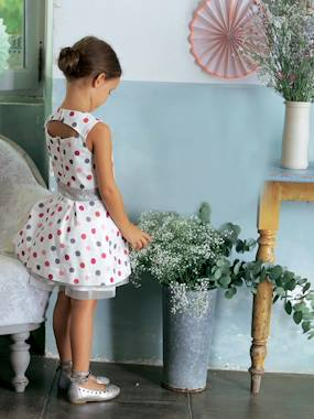 Festive favourite-Girls-Girls Sleeveless Short Dress