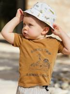 Faded Effect 'Jungle Trip' T-Shirt, for Babies  - vertbaudet enfant