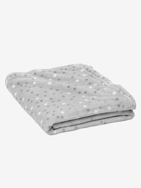 Bedding & Decor-Baby Bedding-Blankets & Bedspreads-Star Printed Microfibre Blanket