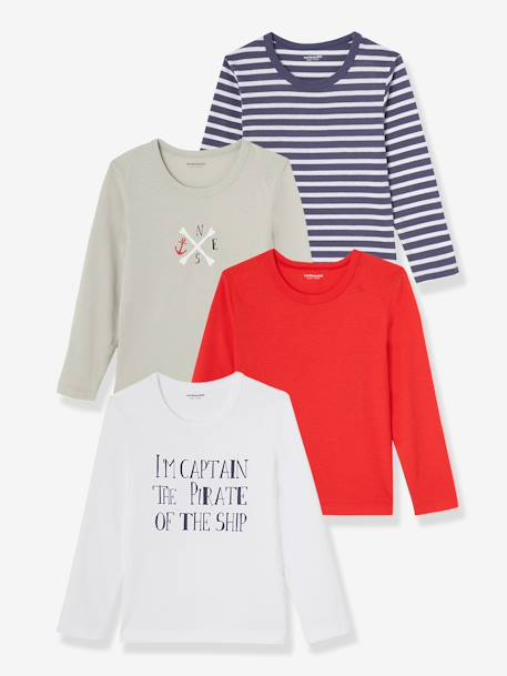 Lot de 4 T-shirts ASSORTIS - vertbaudet enfant