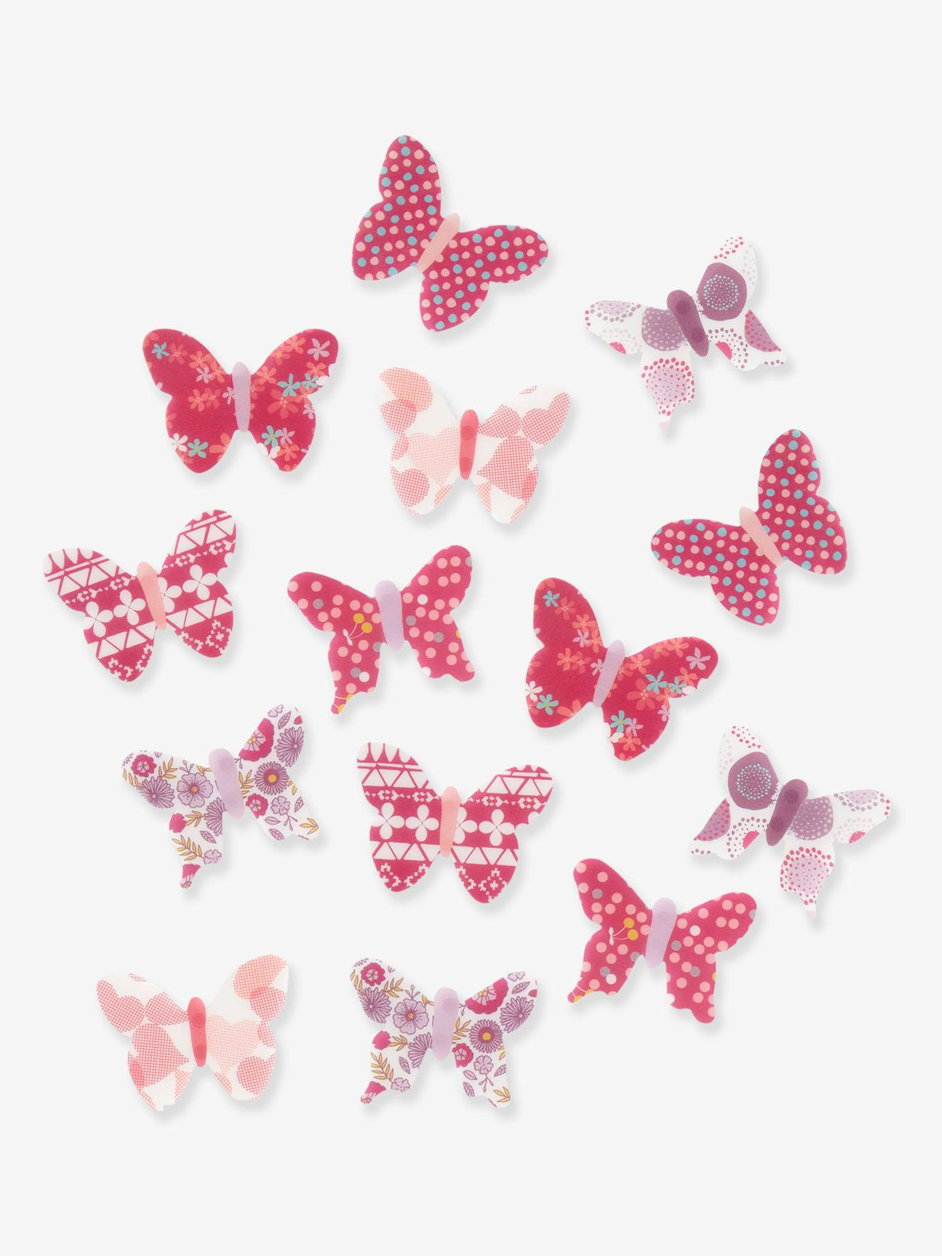 pink kitchen decorating ideas.htm pack of 14 butterfly decorations muticolour  bedding   decor  pack of 14 butterfly decorations