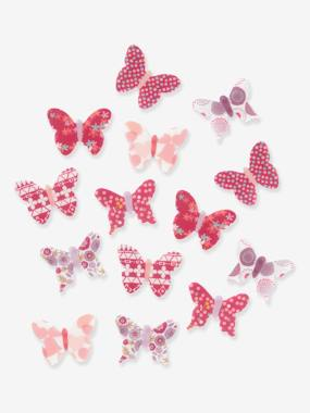 Vertbaudet Collection-Decoration-Pack of 14 Butterfly Decorations