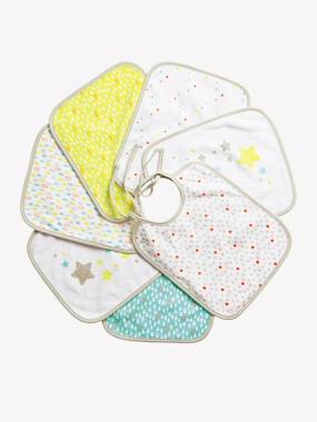 Vertbaudet Collection-Nursery-VERTBAUDET Pack of 7 Bibs