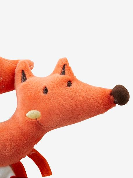 Fox Rattle & Blanket Gift Set Orange - vertbaudet enfant