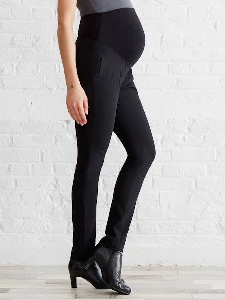 Maternity City Trousers - Inside Leg 32' Black - vertbaudet enfant