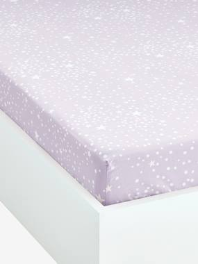 household linen-Fitted Sheet, Tiny Fairy Theme