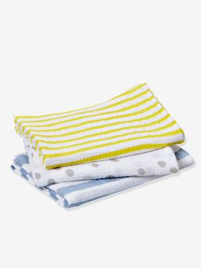 Nursery-Changing Mats-Pack of 3 Baby Nappies