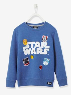 Boys-Sweatshirts & Hoodies-Boys' Sweatshirt with Patches, Star Wars® Theme