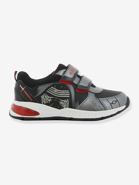 Boys' Light-Up Trainers, Star Wars® Theme BLACK MEDIUM SOLID WITH DESIGN - vertbaudet enfant