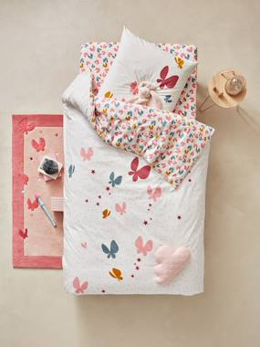 Vertbaudet Sale-Bedding-Children's Duvet Cover & Pillowcase Set, Flight Theme