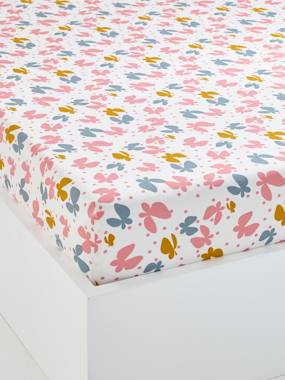 Bedding & Decor-Child's Bedding-Fitted Sheets-Children's Fitted Sheet, Flight Theme