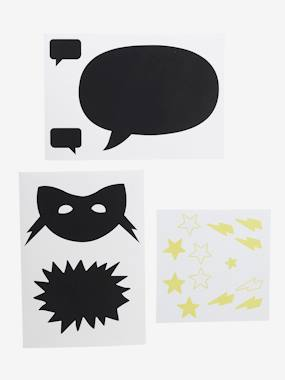 Decoration-Decoration-Sticker-Superhero Slate Stickers