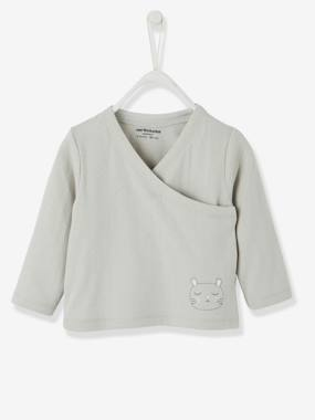 Organic collection-Stylish Baby Cardigan in Pure Organic Cotton