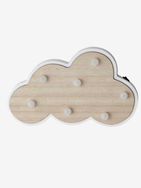 Vertbaudet Collection-Decoration-Luminous Cloud in Wood