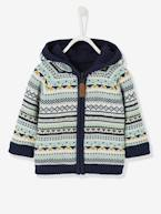 Baby Boys' Reversible Jacket with Hood  - vertbaudet enfant