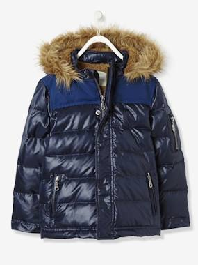 Coat & Jacket-Boys' Feather & Down-Filled Padded Jacket