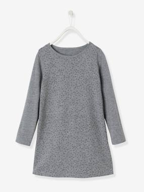 Vertbaudet Collection-Girls-Girls' Dress in Jersey Knit