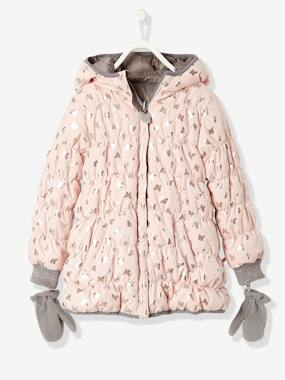 New Collection Fall Winter - Vertbaudet | Quality French Clothes for Babies & Children-Girls' Reversible Padded Jacket