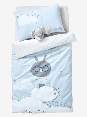 Vertbaudet Collection-Bedding-Baby Duvet Cover, Dream Cloud Theme