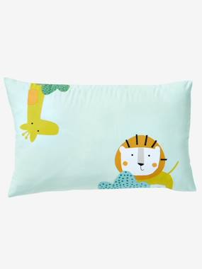 Bedding & Decor-Baby Pillowcase, Jungle Party Theme