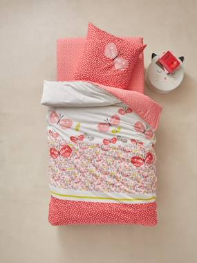 Mid season sale-Bedding-Children's Duvet Cover & Pillowcase Set, Butterflies Theme